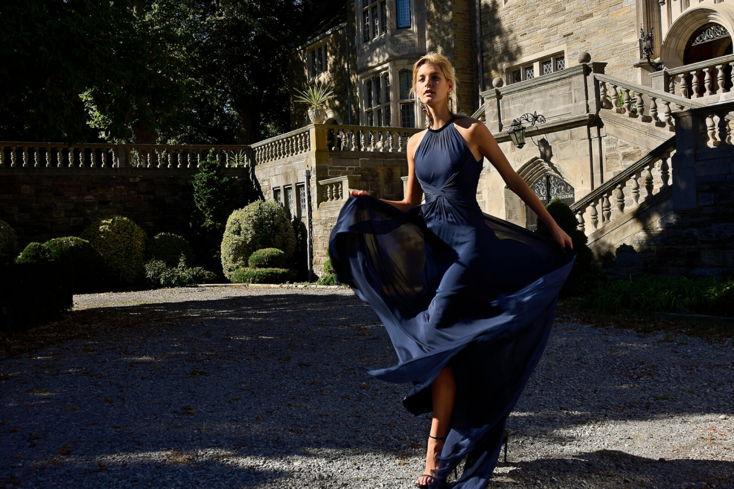 Fashion Editorial: Country Estate